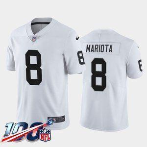 Las Vegas Raiders Marcus Mariota White Jersey